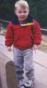 Brian Cox as a kid