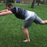 How to do One leg warrior Balance for Power Rugby Players