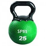 SPRI Kettleball (Green, 25-Pounds)