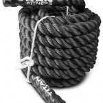Titan Fitness Titan 30' 40' 50' Poly Battle Rope Heavy HD Dacron Climbing WOD Training Fitness