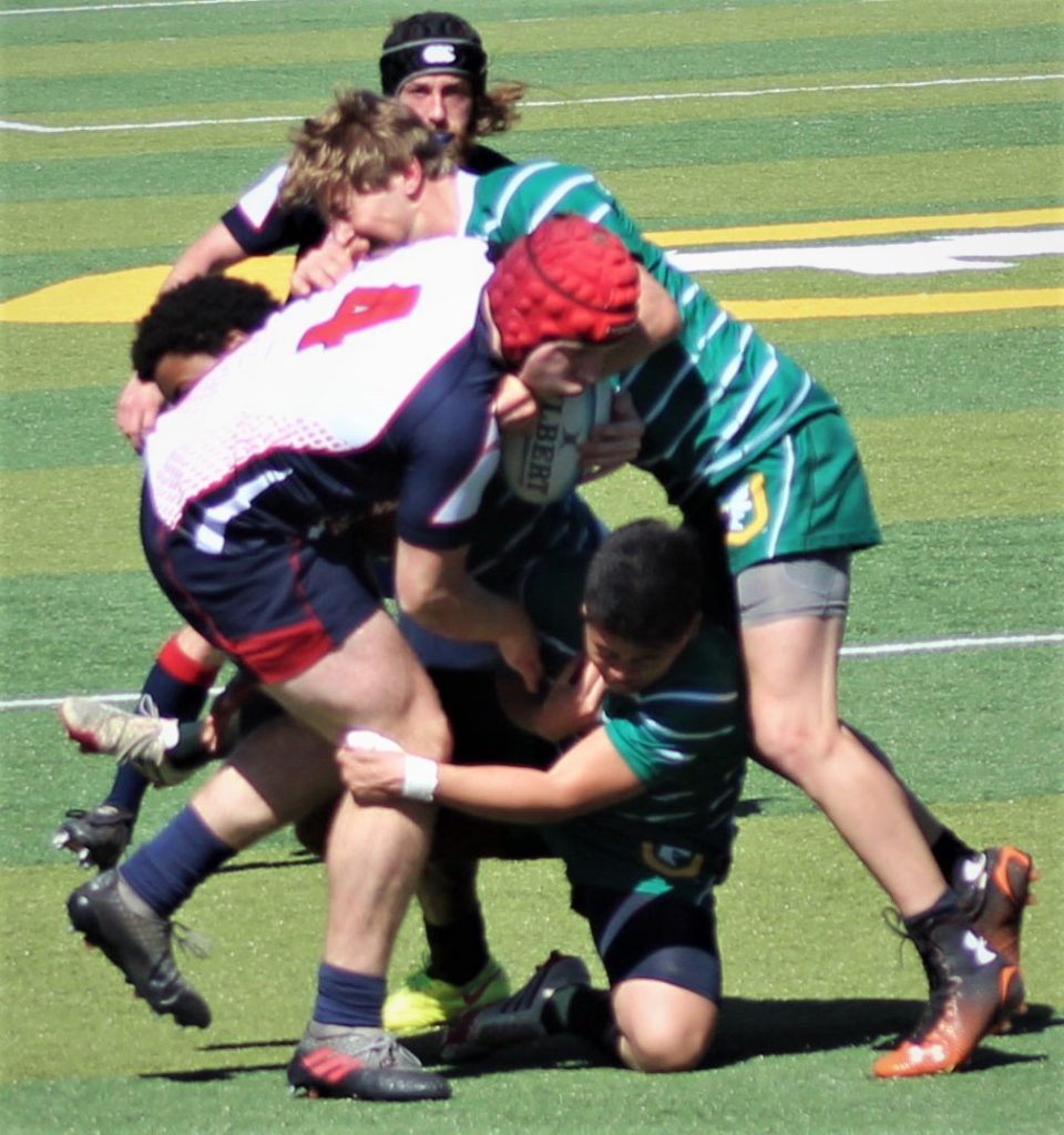 Rugby Player Rugby Avoiding the Tackle Rugby Game Brian Cox