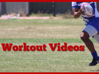 Speed Acceleration videos for rugby players